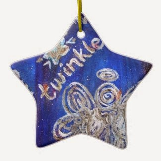 Twinkle Angel Ornament