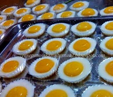 Resep Dan Cara Membuat Puding Telur Ceplok Mata Sapi