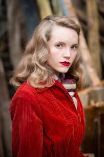 Tamzin Merchant as Molly in ITV's Murder on the Home Front