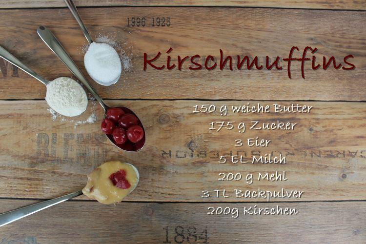 rezept kirschmuffins
