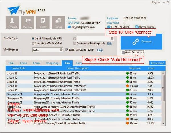 Le huitième image de méthode d'utiliser le VPN gratuitement dans le système Windows.