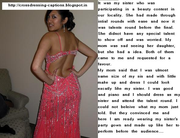 Forced Feminization Captions Blog http://crossdressing-captions.blogspot.com/2012/07/beauty-contest.html