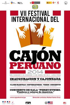 VII FESTIVAL INTERNACIONAL DE CAJON