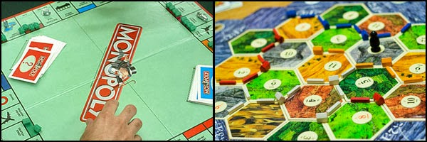 Monopoly and Settles of Catan
