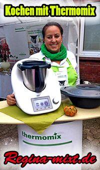 Kochen und becken mit Thermomix