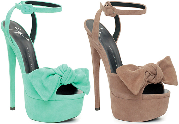 Giuseppe Zanotti Bow embellished sandals dDq9rXR4