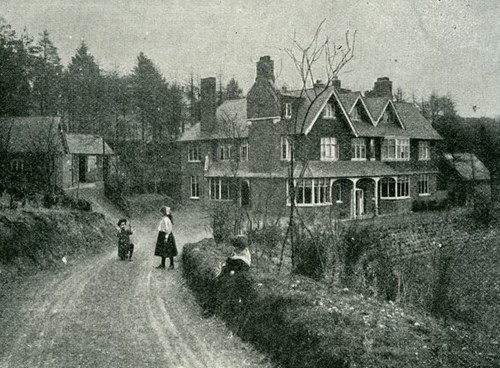 Undershaw, the Surrey home of Sir Arthur Conan Doyle, in 2007.