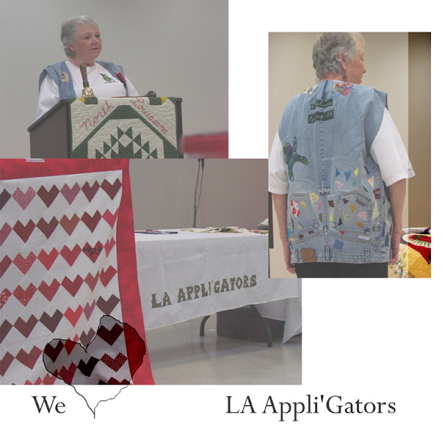 Glenda Worley...member of LA Applique Society