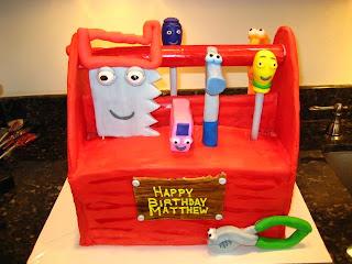 Funny Handy Manny Birthday Cake