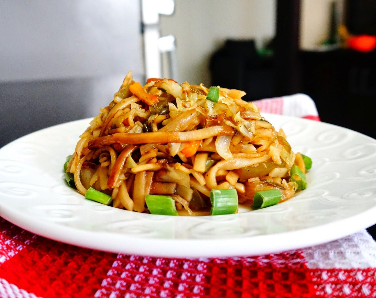 Scrumptious indian recipes recipe of thai rice vegetable noodles rice noodles thai vegetable noodles rice vegetable noodlespastaindian vegetarian forumfinder Images