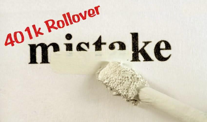 IRA rollover mistake