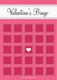 Printable Valentines Day Bingo Cards 4