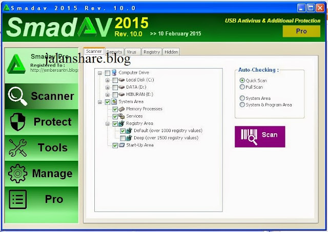 Download Smadav Pro 2015 Full Serial
