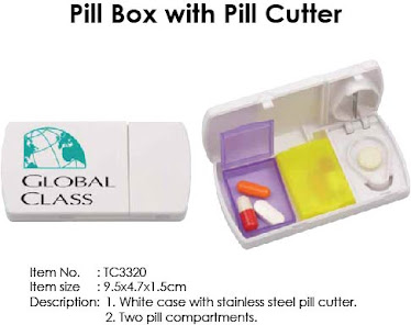 "CENTRUM LINK - ""PILL BOX With PILL CUTTER"""
