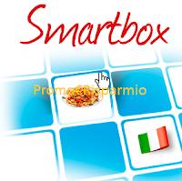 Logo Concorso gratuito Smartbox: vinci 6 cofanetti Expo