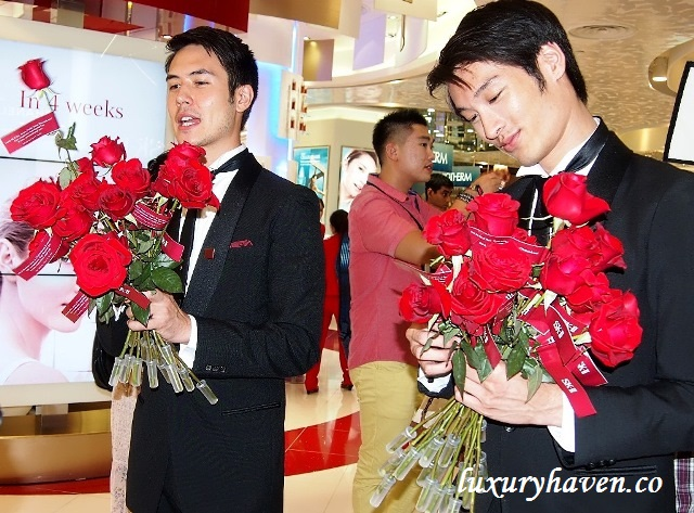 tangs sk ii pitera house media event roses
