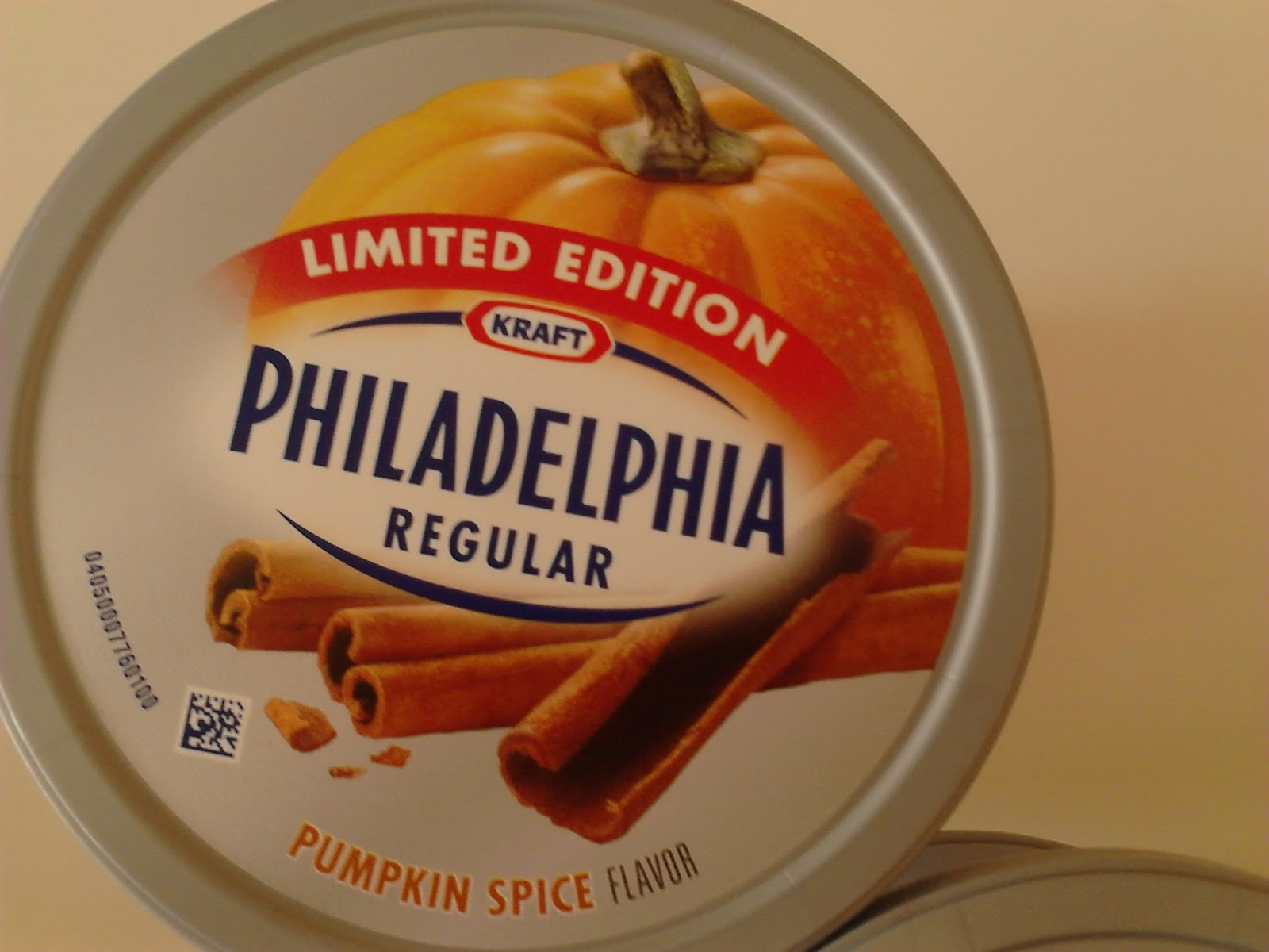 : Kraft Philadelphia Limited Edition Pumpkin Spice Cream Cheese ...