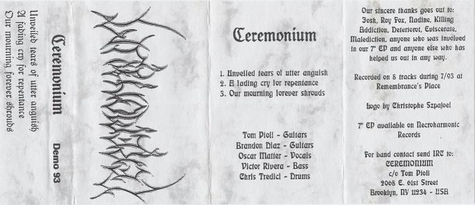 Ceremonium - No Longer Silent