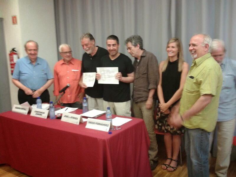 Primer premio poesia Constancio                  Zamora