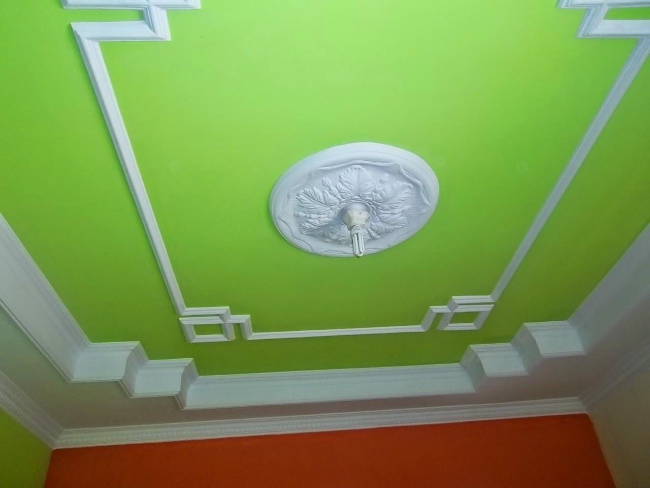 Contoh cat plafon gypsum yang bagus