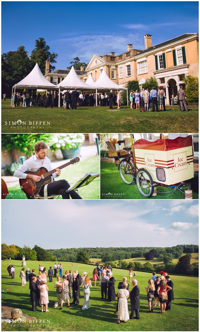 Polesdon Lacey wedding reception