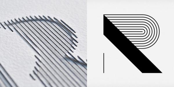 Peter Crawley Creative Review detail and Calango Moshun Animated Font R