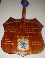 rowing shield, 1957, Cambridge