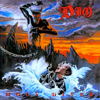 Dio - Holy Diver album cover, 1983