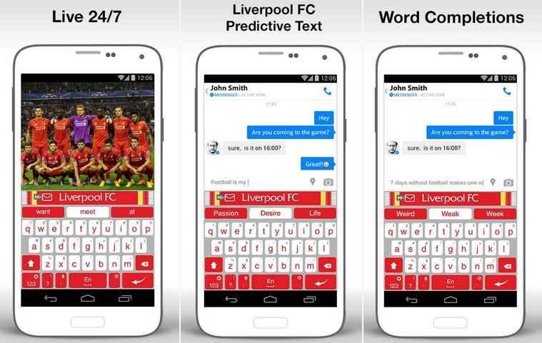 kumpulan tema aplikasi keyboard android liverpool terbaik