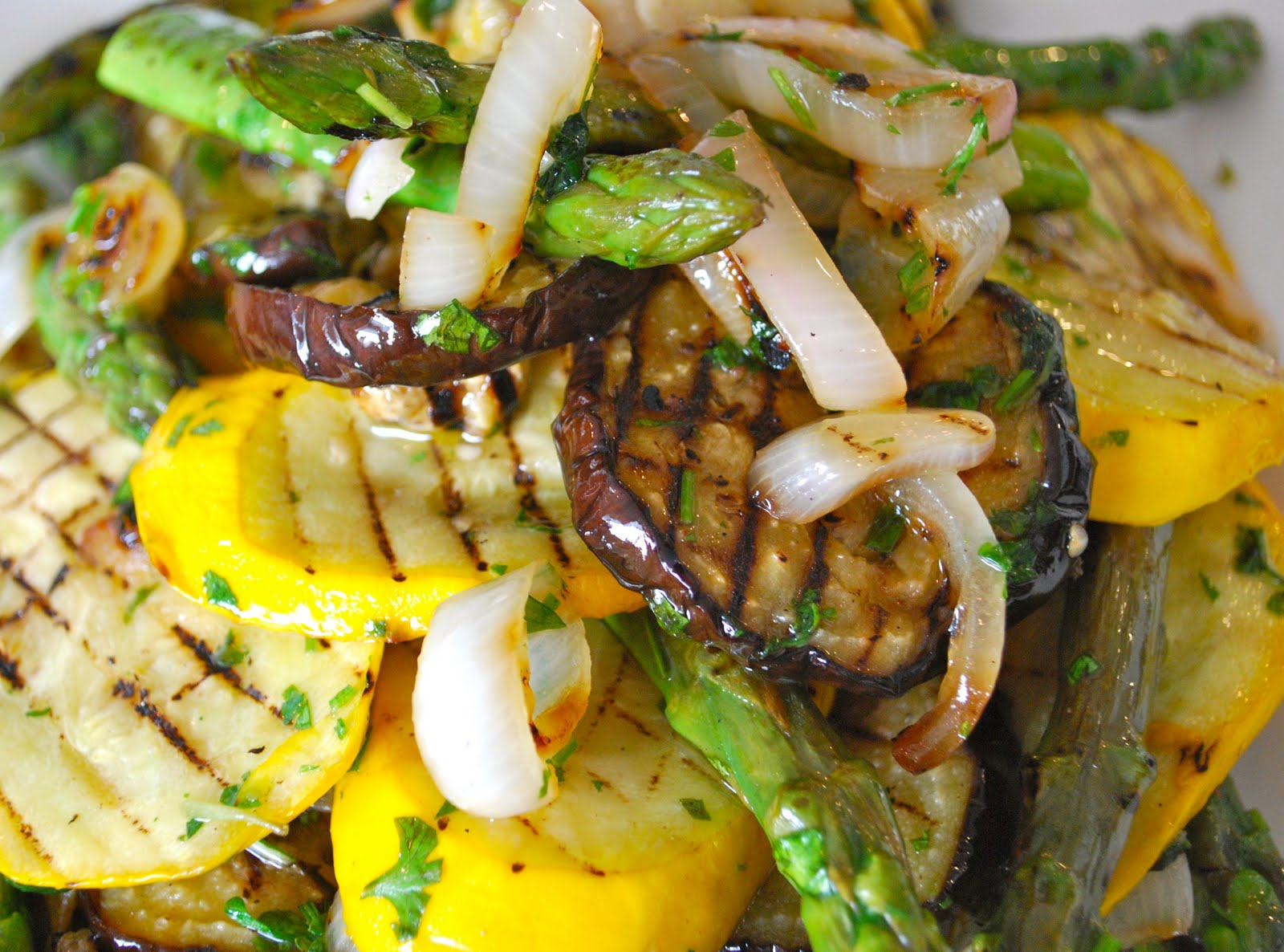 Bert Bakering: Grilled vegetable salad