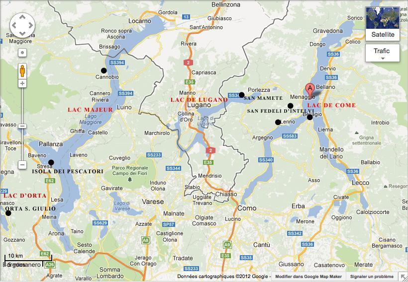 L 39 italie de michelle gastaut blogue octobre 2012 - Hotel de charme lac de come ...