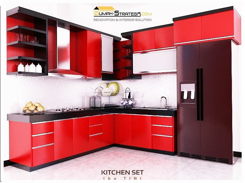 Kitchen Set Mini Bar Ibu Tini