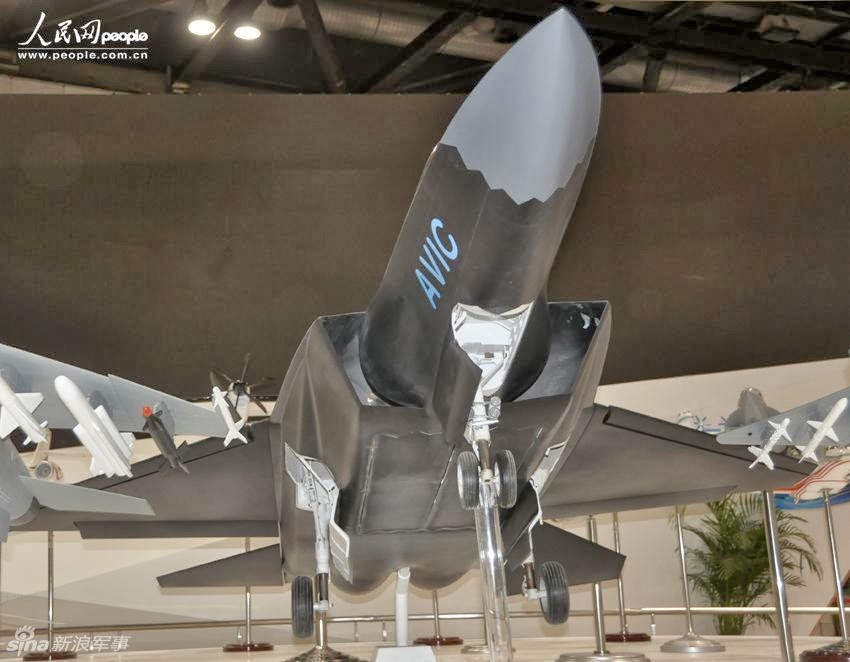 AVIC New Stealth Fighter