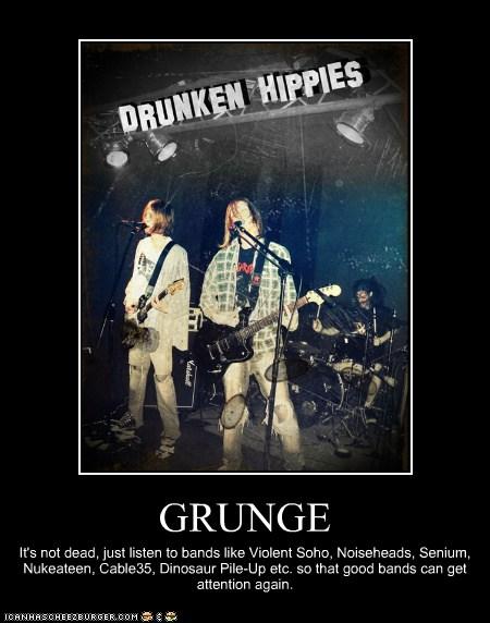 The Grunge Pit October 2012