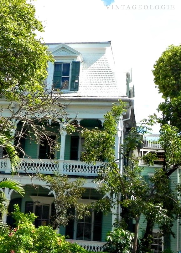 V I N T A G E O L O G I E Key West Homes And Gardens