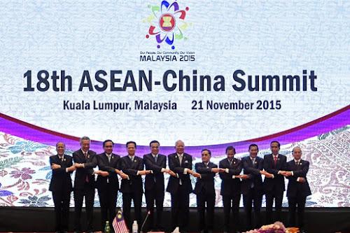 Asean Summit, Malaysia  on Nov 21, 1015