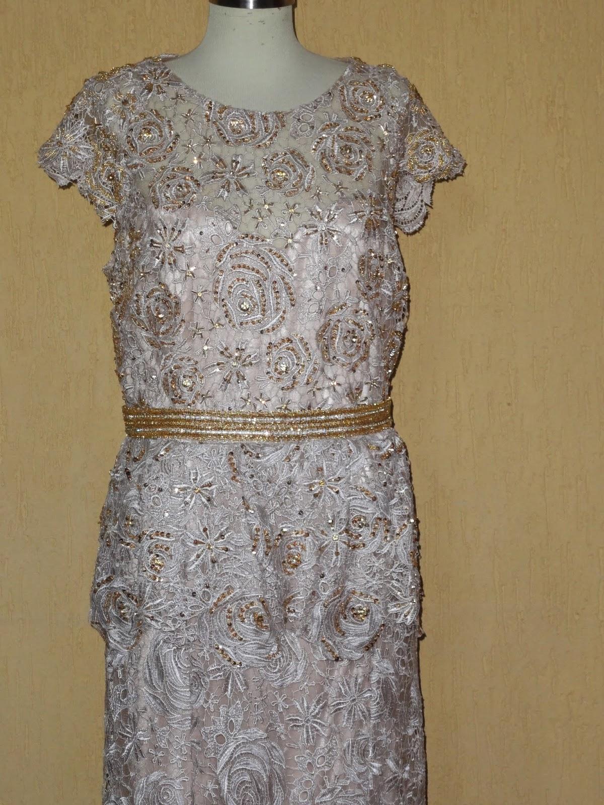 Tecido renda tule nude bordado floral - Maximus Tecidos