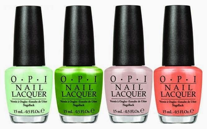 OPI Hawaii Spring/Summer 2015 Collection