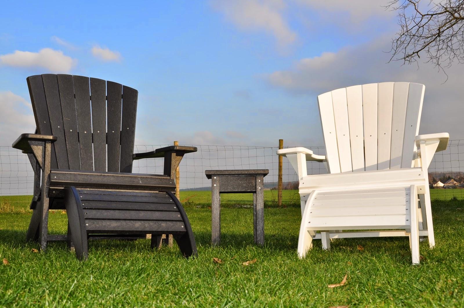 Fauteuil adirondack en plastique fauteuil relax - Chaise adirondack plastique recycle costco ...