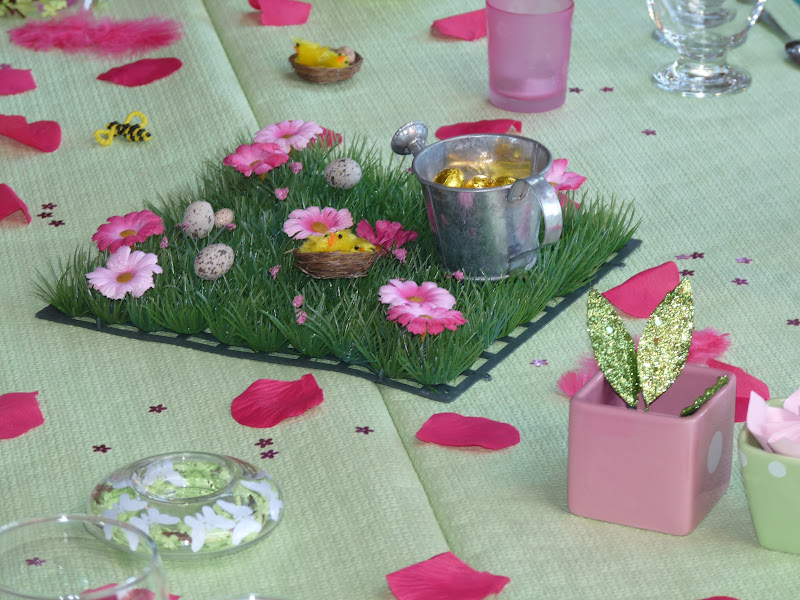 Passion cuisine ma table de printemps for Decoration jardin printemps