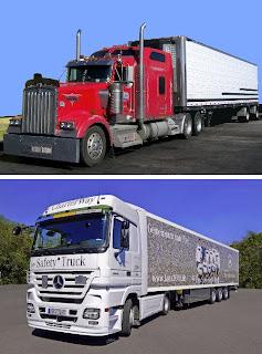 camiones europeos - trucks americanos
