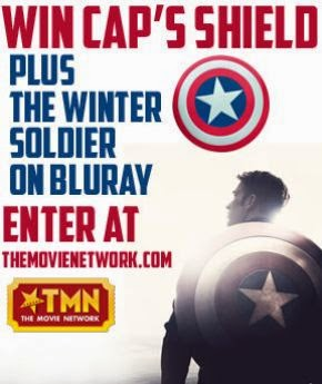 Win Captain America's Shield and The Winter Soldier on Blu-ray!