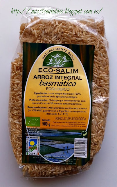 Arroz integral basmático