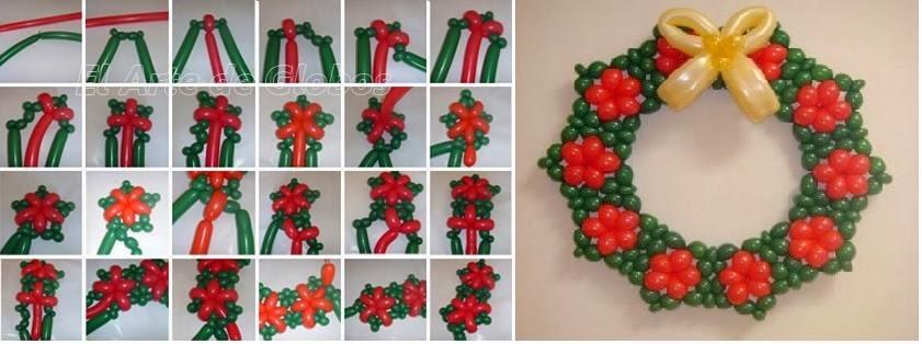 D 39 peck eventos decoraciones como hacer una corona - Como hacer decoraciones navidenas ...