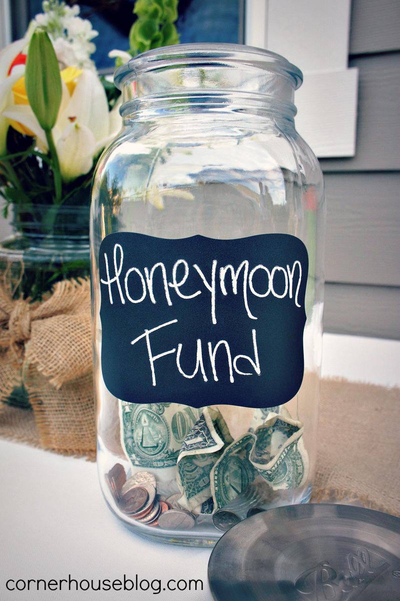 1000 ideas about honeymoon jar on pinterest gift table for Savings jar ideas