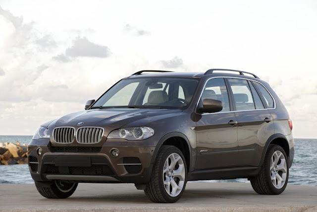 Frontal del BMW X5