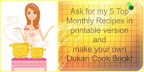 Make your own printable Dukan Cook Book!!! New recipes will be added in July!