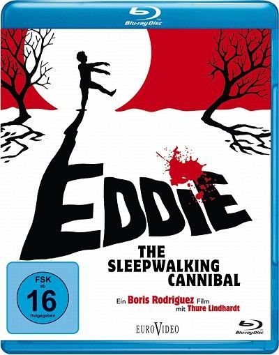 Filme Poster Eddie: The Sleepwalking Cannibal BDRip XviD & RMVB Legendado