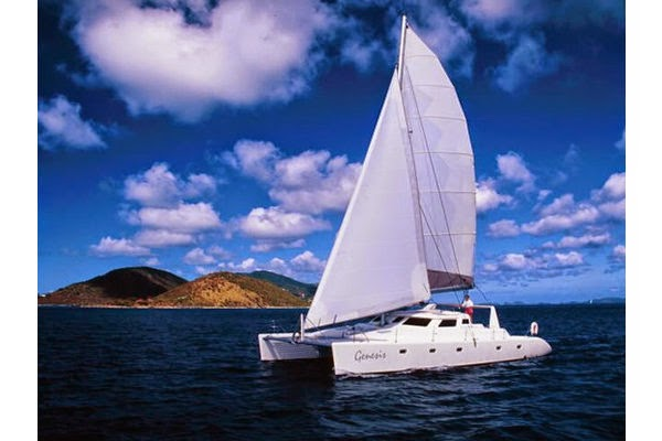 Catamaran Genesis, All-inclusive crewed Caribbean catamaran yacht charters, Virgin Islands Sailing Vacations, BVI
