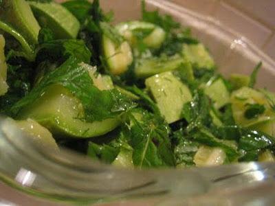 Buharda Kabak - Salata